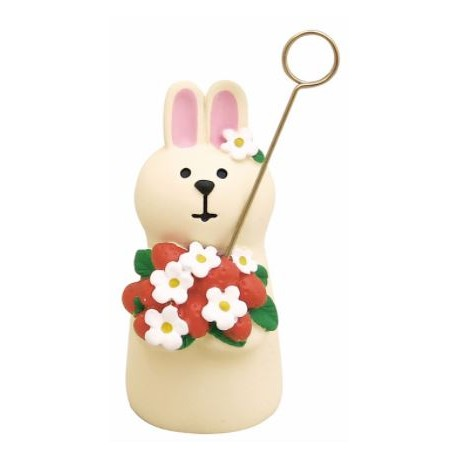 Porte-message Lapin
