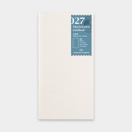 TRAVELER'S notebook Refill - Watercolor Paper 027