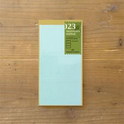 TRAVELER'S notebook Refill - Film Pocket Seal 023