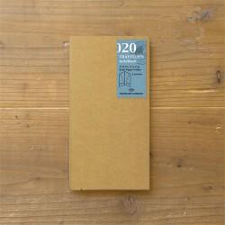 TRAVELER'S notebook Refill - Kraft Paper Folder 020