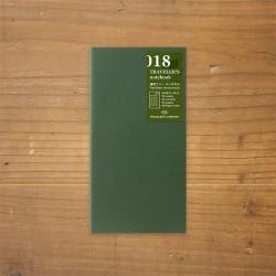 TRAVELER'S notebook Refill - Weekly Free Vertical 018