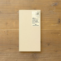 TRAVELER'S notebook Refill - Free diary monthly 017