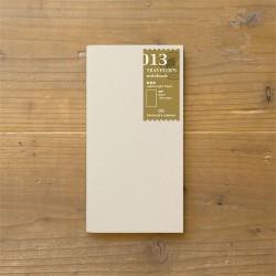 TRAVELER'S notebook Refill - Light paper notebook 013