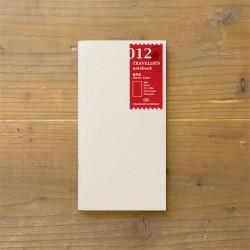 TRAVELER'S notebook Refill - Sketch notebook 012