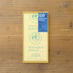 TRAVELER'S notebook Refill - Double-sided sticker 010