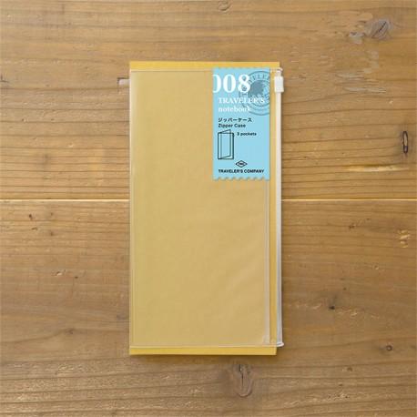 TRAVELER'S notebook Refill - Zipper pocket 008