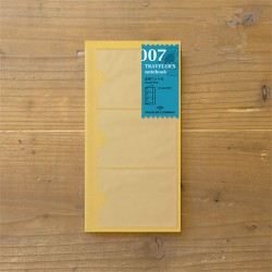 TRAVELER'S notebook Refill - Card file 007