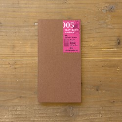 TRAVELER'S notebook Refill - Free diary Daily 005