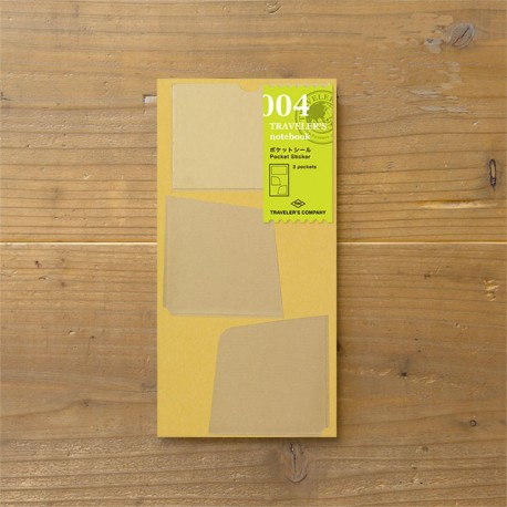 TRAVELER'S notebook Refill - Pocket stickers 004