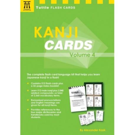 Kanji Cards volume 4
