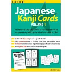 Japanese Kanji Cards volume 1