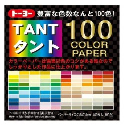 TANT 100 color papers 75mm