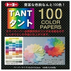 TANT 100 color papers 150mm