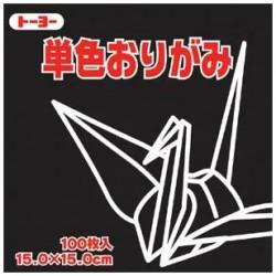 Papier origami uni 150mm - Kuno -