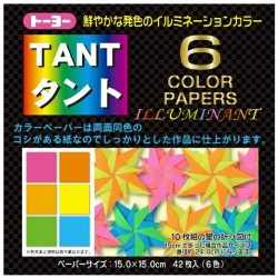 TANT 6 color papers Illuminant 150mm