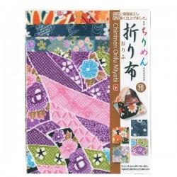 Tissu Chirimen pour origami 150mm