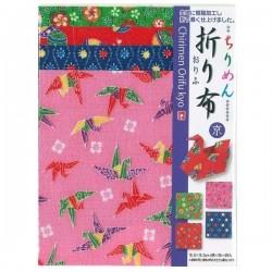 Tissu Chirimen pour origami 150mm - Kyô -