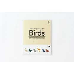 Calendrier good morning 2022 - Birds -