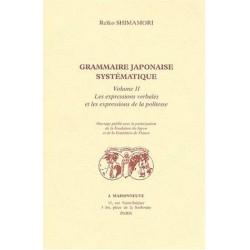Grammaire japonaise systématique Vol.2