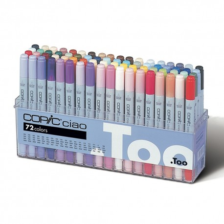 Copic Ciao Set A 72 couleurs