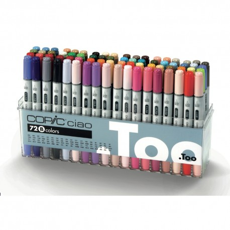 Copic Ciao Set B 72 couleurs