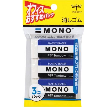 Gomme MONO Pack de 3