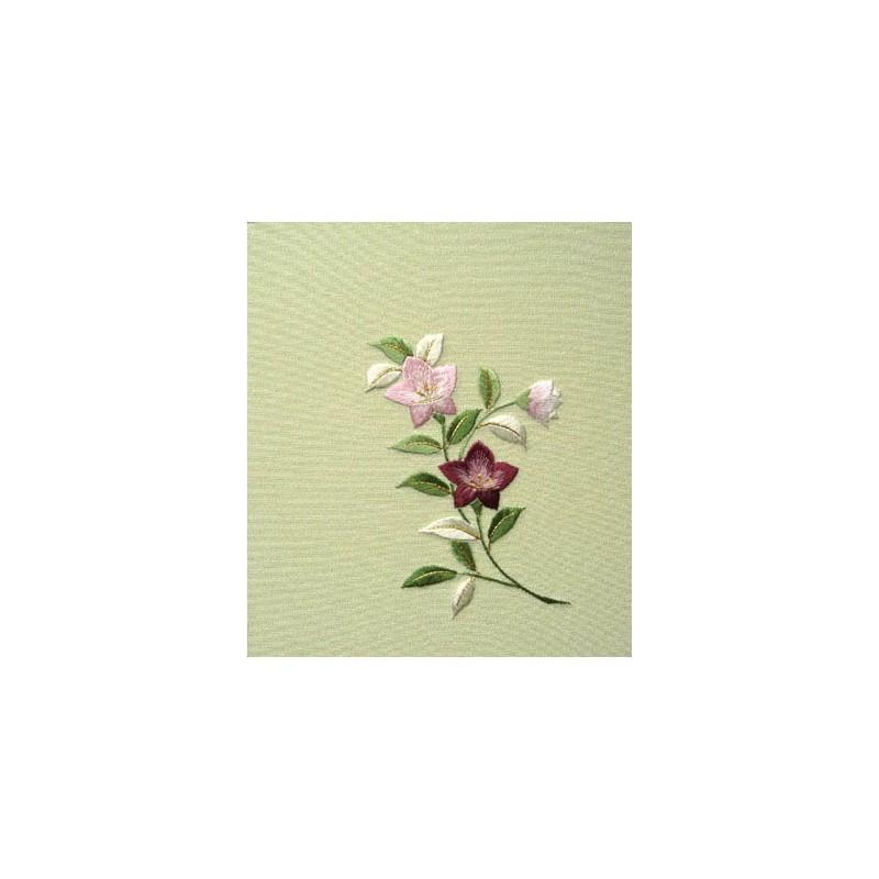 Kit Broderie japonaise, Fleurs de Kyoto , Librairie Junku