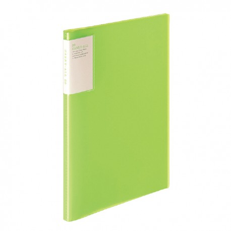Clear Book - Carry All 20 (A4)