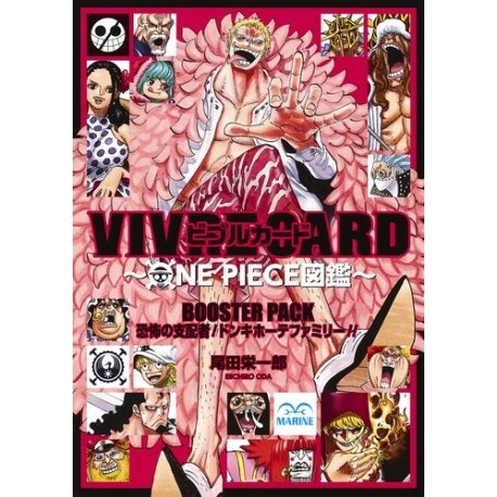 One Piece - Vivre Card Booster Pack / Kyôfu no shihaisha