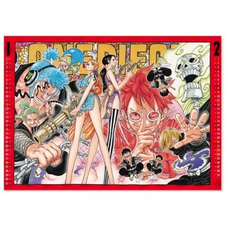 Calendrier One Piece 2020.Calendrier 2020 One Piece