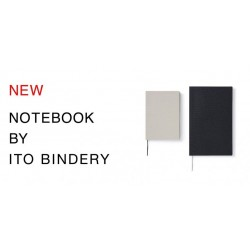 Cahier Notebook A6 Gray Blank