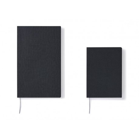 Cahier Notebook A6 Black Grid