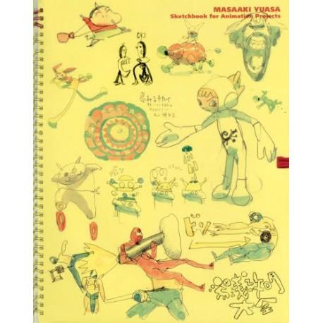 YUASA Masaaki Taïzen - Sketchbook for Animation Projects -