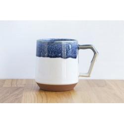Mug CHIPS - Bicolore Bleu Blanc -