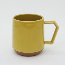 Mug CHIPS - Couleur Uni Moutarde -