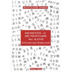 Mémento et dictionnaire des Kanji - 2143 nouveaux Kanji usuels japonais, 10e édition