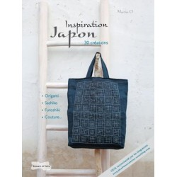 Inspiration Japon - 30 créations : origami, sashiko, furoshiki, couture...