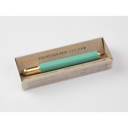 Brass Foutain Pen Factory Green