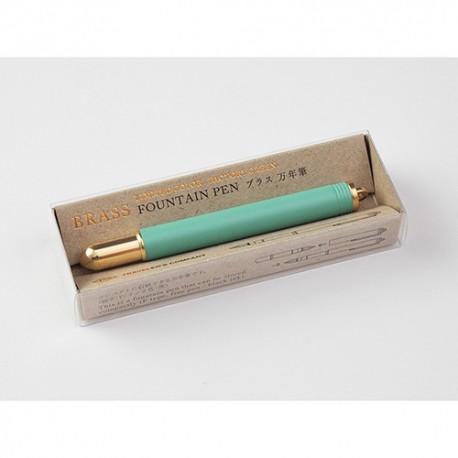Brass Foutain Pen Factory Green