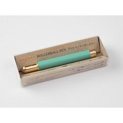 Brass Rollerball Pen Factory Green
