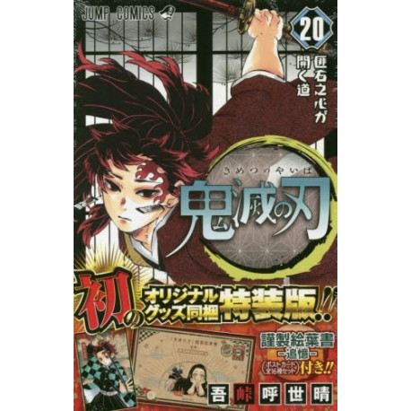 Kimetsu no Yaiba 20 - Edition Limitée