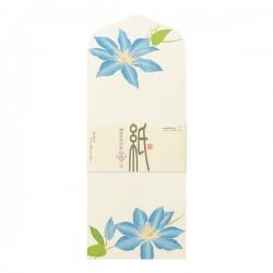 Enveloppes, fleurs d'été - 4 motifs -