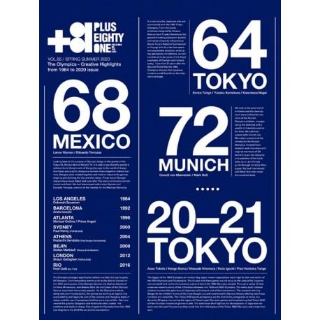Plus Eighty One +81 Vol.85 Spring Summer 2020