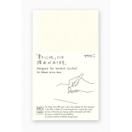 Cahier MD Paper - Shinsho 17.5 x 10.5cm - Papier uni ivoires