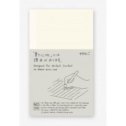 Cahier MD Paper - Shinsho 17.5 x 10.5cm - Papier ligné ivoire