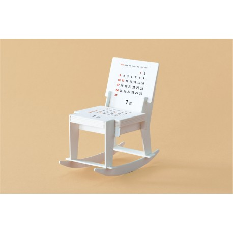Calendrier good morning 2021 - Rocking Chair -