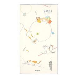 Midori Agenda 2021 Slim - Neko -