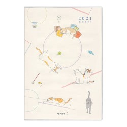 Midori Agenda 2021 - Neko - B6