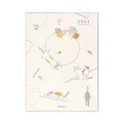 Midori Agenda 2021 - Neko - A6