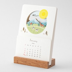 Calendrier Midori 2021 - Paysages -